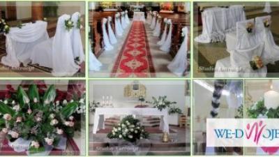 Dekoracje ślubne już od 250 zł