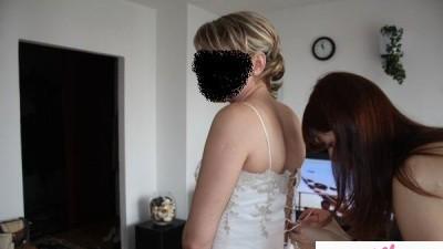 delikatna ale urokliwa suknia ślubna