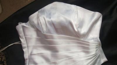 Delikatna i śliczna suknia