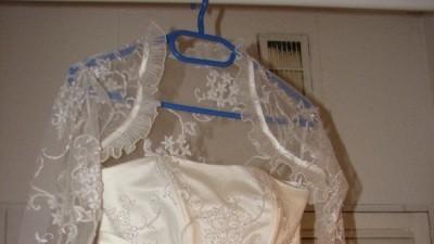 Delikatna romantyczna suknia ślubna