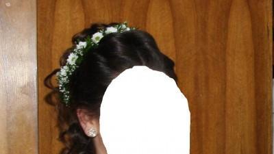 Delikatna suknia ślubna ecri