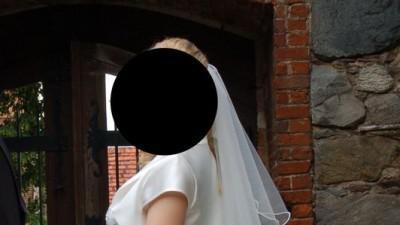 Delikatna suknia ślubna ecru-wanilia rozm. 36, wyjątkowa,zwiewna, bardzo kobieca