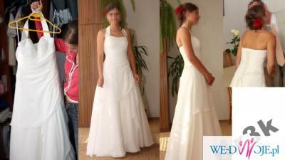 Delikatna suknia ślubna SOMIA rozm. 36