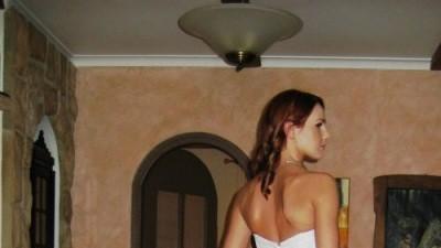 DEMETRIOS 900, LISA FERRERA, biała, koronka