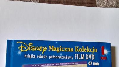 DISNEY Magiczna Kolekcja - książki i filmy DVD