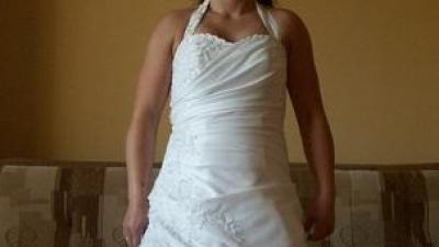 do sprzedania piękna suknia ślubna