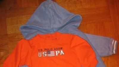 Dresik niebieski Ralph Lauren + U.S POLO ASSN