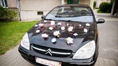 Duża dekoracja samochodu