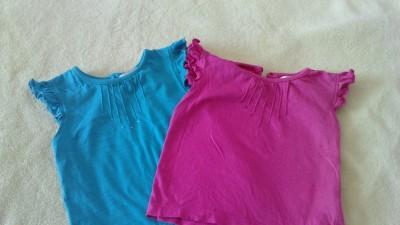 Dwie bluzeczki 18-24 mies