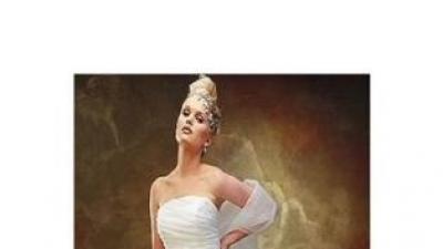 dwie nowiutkie suknie ślubne