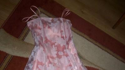 dziewczęca sukienka