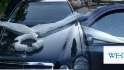 Efektowna dekoracja na samochod