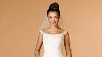 Efektowna i oryginalna suknia ślubna-okazja, dodatki gratis!