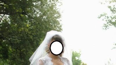 Efektowna Suknia ślubna + 2 welony