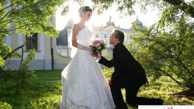 EKSKLUZYWNA, śnieżnobiała suknia Benjamin Roberts z naturalnego jedwabiu