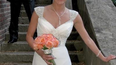 ekskluzywna suknia ślubna