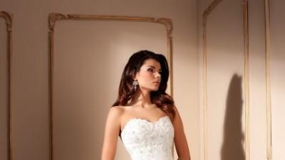 Ekskluzywna Suknia Ślubna firmy CLASSA + bolerko