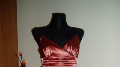 Elegancka, atłasowa sukienka, rozm. 38