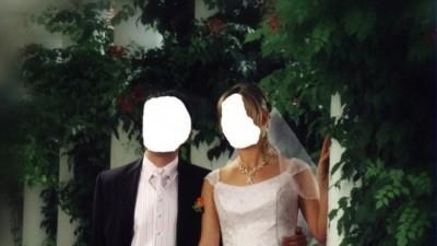 Elegancka biała suknia ślubna z odpinanym trenem!!!