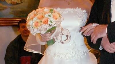 Elegancka francuska Suknia Ślubna!!!!