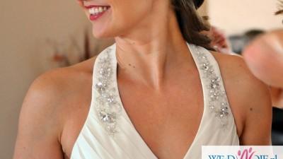 Elegancka i delikatna suknia Ecri od Herm's Bridal