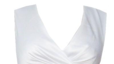 Elegancka klasyczna Sukienka z Marszczeniami