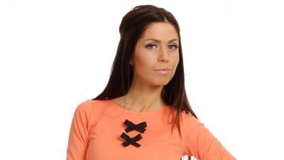 Elegancka krótka tunika - XS-L różne kolory