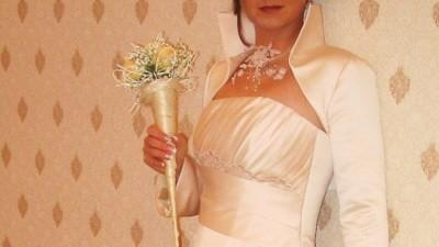 elegancka,prosta suknia ślubna