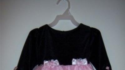 elegancka sukieneczka dla dziewczynki