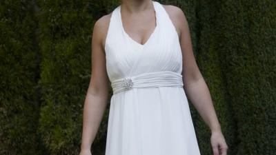 Elegancka suknia firmy AGNES + buty