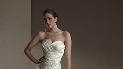 Elegancka suknia renomowanej, znanej firmy Sincerity Bridal +gratisy