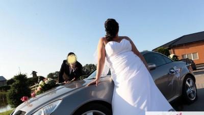 Elegancka suknia renomowanej, znanej firmy Sincerity Bridal Plus model 4505 ivo