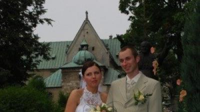 Elegancka suknia ślubna biała rozmiar38+welon+kwiat we włosy