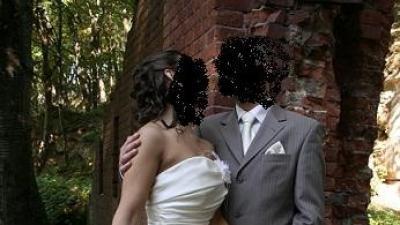 elegancka suknia ślubna ESTERA ecru