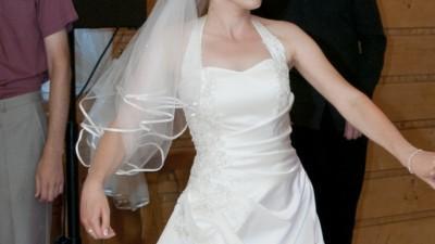 Elegancka suknia ślubna Migela w dobrej cenie