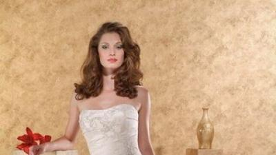 Elegancka suknia ślubna model 2007