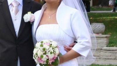 Elegancka suknia ślubna rozm. 36/38
