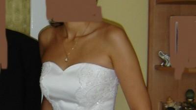 Elegancka suknia ślubna rozm. 40 - Katowice