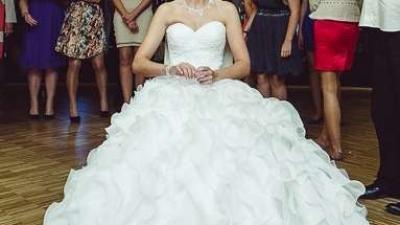Elegancka suknia ślubna SOPHIA rozmiar 36-38