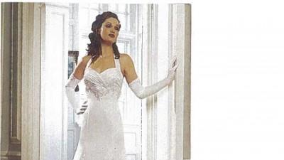 Elegancka suknia ślubna Włoska