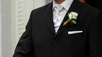 Elegancki garnitur męski firmy Wilvorst