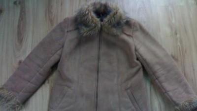 Elegancki kożuszek zimowy