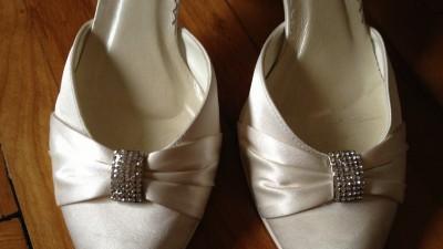 Eleganckie buty ślubne