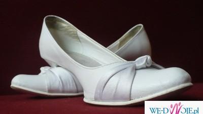 Eleganckie buty ślubne r.38