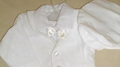 Eleganckie ubranko do chrztu rozmiar.74 dla chłopca-stan idealny.