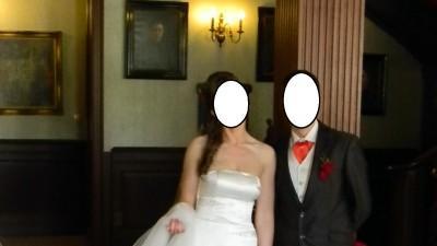 Elegnacka i szykowna suknia ślubna - Rybka