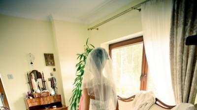 Elizabeth Darcy - włoska koronkowa suknia ślubna, r. 34