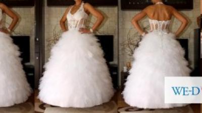 EMMMI MARIAGE przepiekna suknia slubna r 38