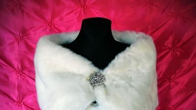 Etola ślubna futerko styl glamour