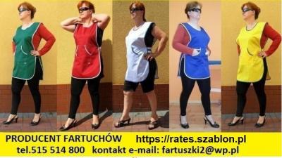 FARTUCHY Robocze Firmy RATES ceny od 9 zł.